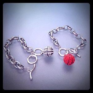 Jewelry - Bball & Chain Bracelet